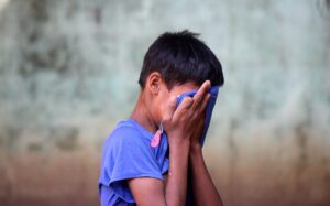 Refugee Child Crrying