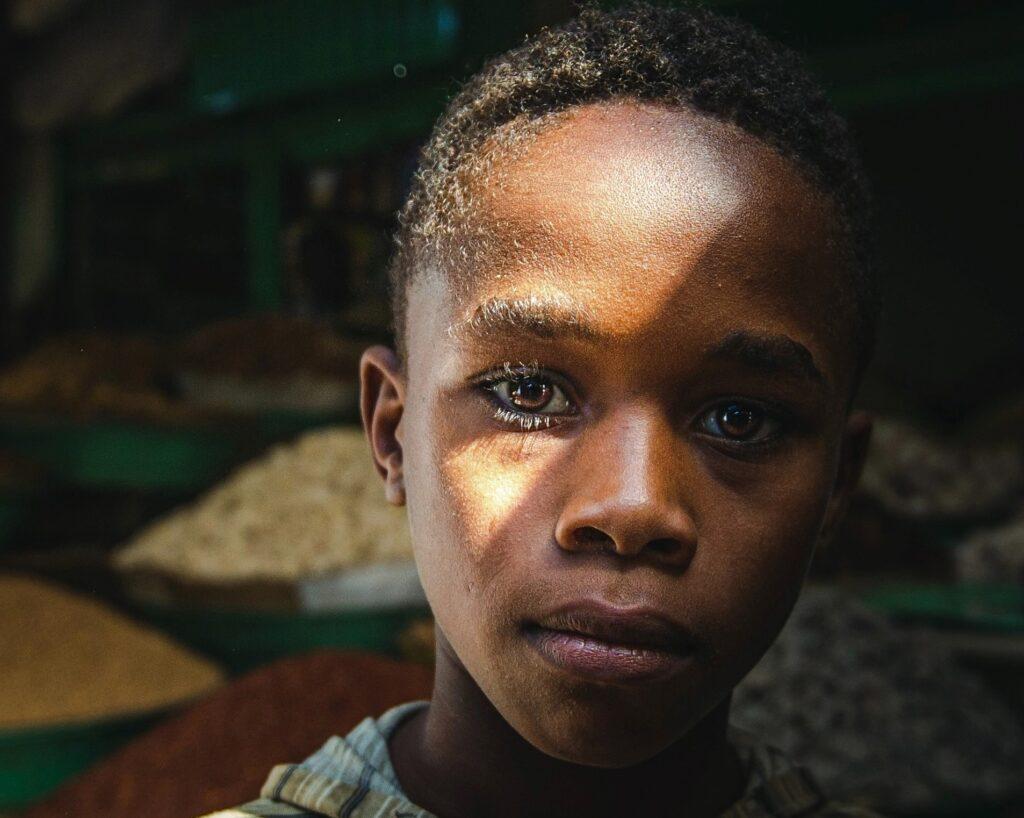 Child from the Democratic Republic of Congo